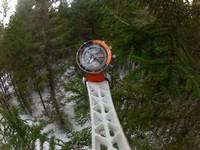часы Lunokhod в стратосфере