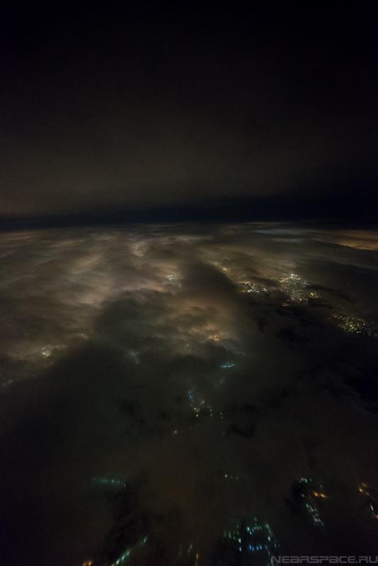 Москва из стратосферы